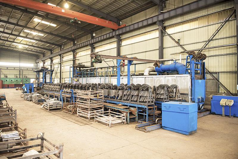 燃气隧道炉热处理生产线